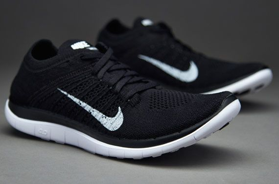 on sale 87b74 12dff Flyknit White Black Blue Nike 4.0 Women's | nike wmns free 4 ...