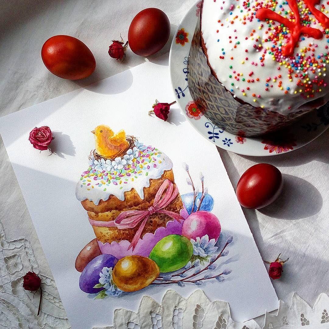 Фото пасхальных рисунков