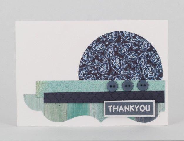 great card for using scraps www.craftqueen.com.au