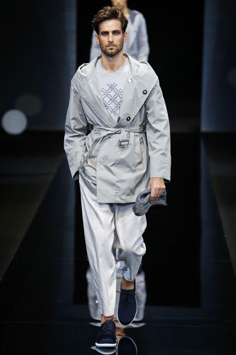Giorgio Armani | Menswear - Spring 2017 | Look 24