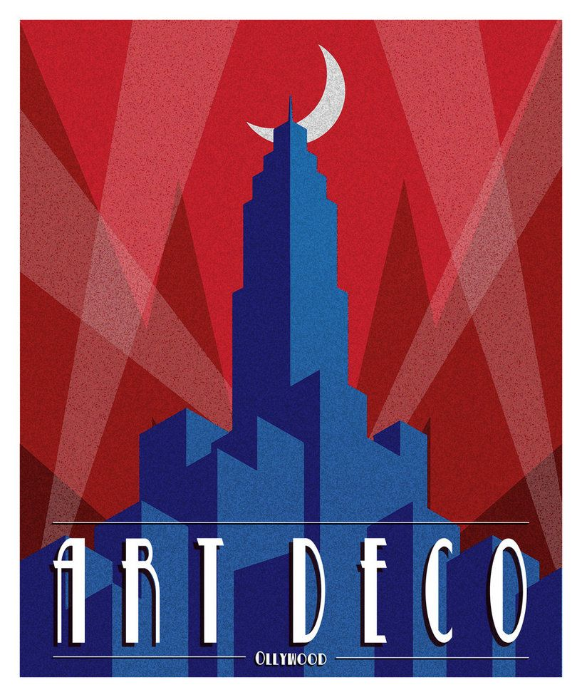 Art Deco Posters: Art Deco Poster By ~Ollywood On DeviantART
