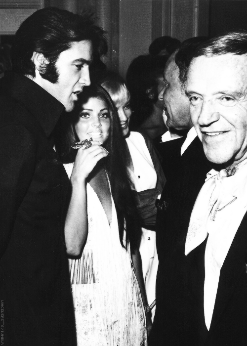Elvis, Priscilla Presley, Frank Sinatra and Fred Astaire.   All ... 71f9ce4549