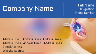 Dental clinic visiting card services in hyderabad printasia business cards online reheart Gallery