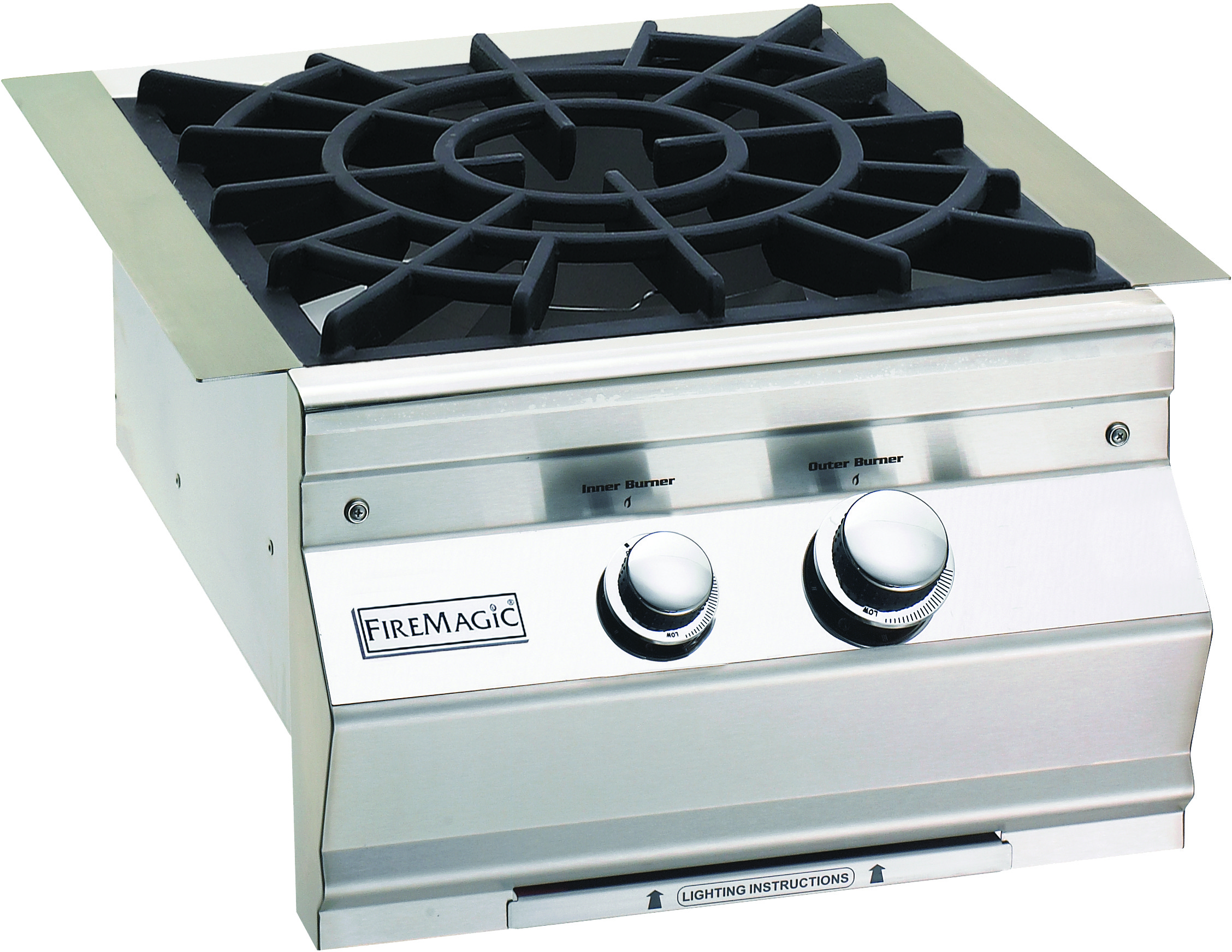 Fire Magic Aurora Side Burner 19s0b2n0 Outdoor Kitchen Design Built In Grill Grilling