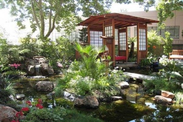 Charming Luxury Japanese House Garden Design Types Part 22