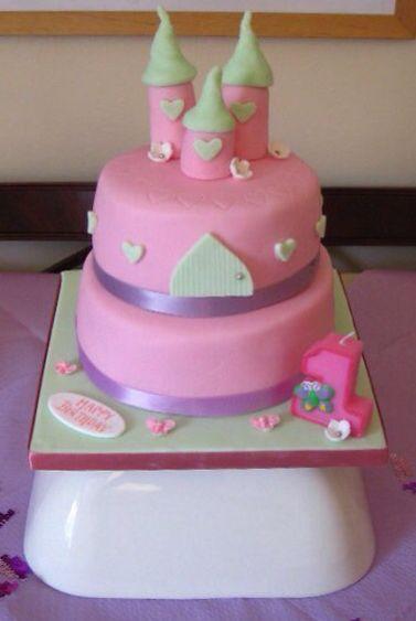 Easy Fairy/Princess Castle Cake
