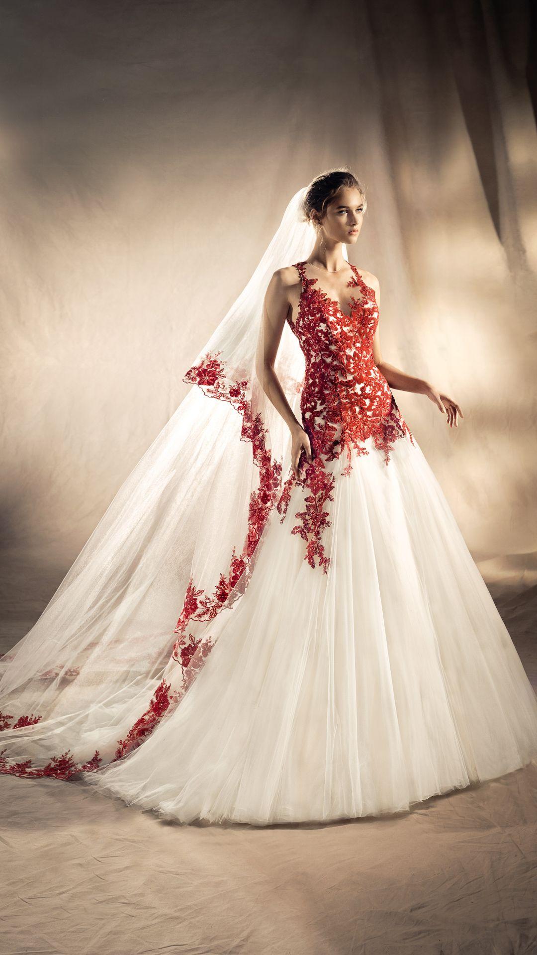 White One Brautkleider Kollektion 14  Kleid hochzeit, Rote