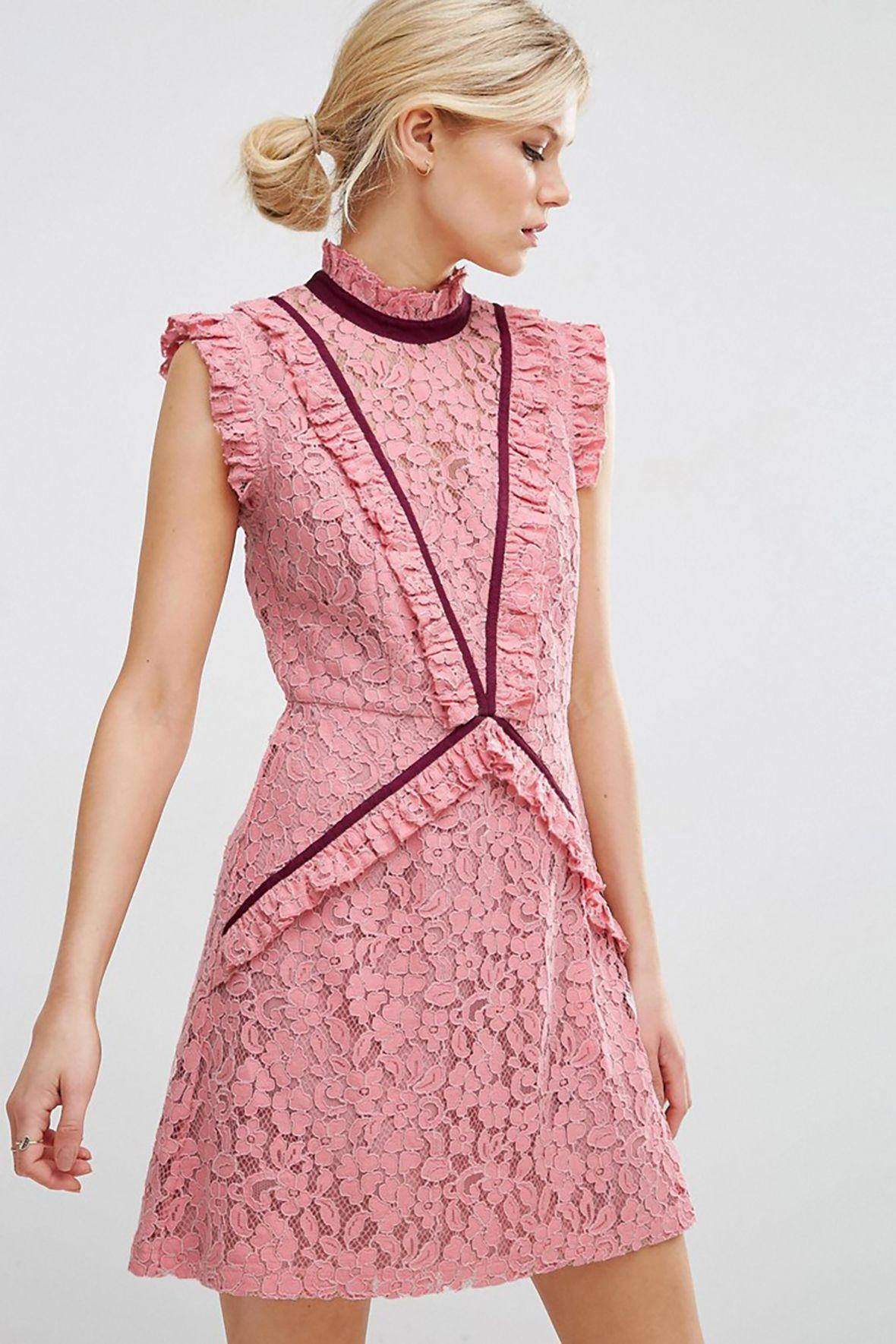 Moderno Asos Vestido De Cóctel Ornamento - Colección de Vestidos de ...