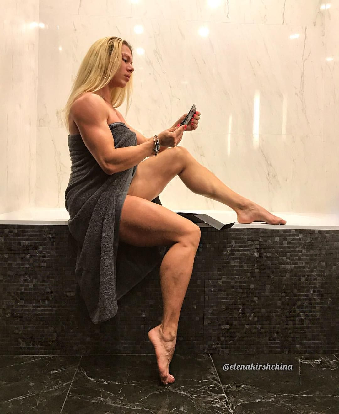 Apologise, but, sexy barefoot bodybuilding woman
