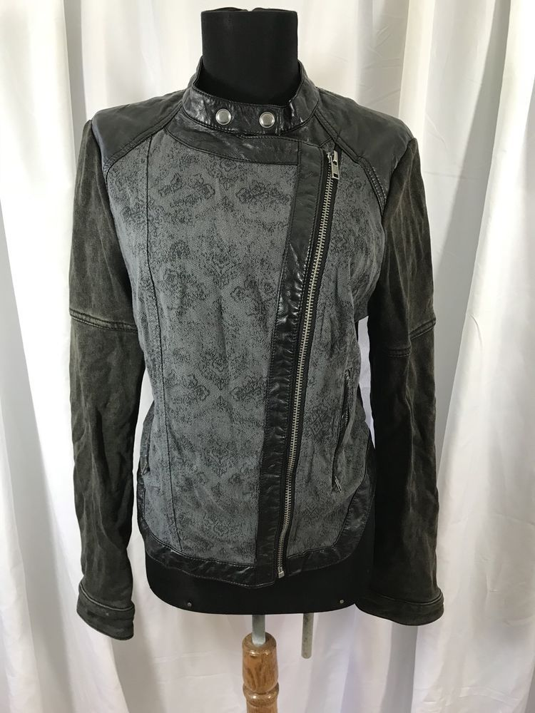 Free People UK Urban Outfitters Pleather Fabric Motorcycle