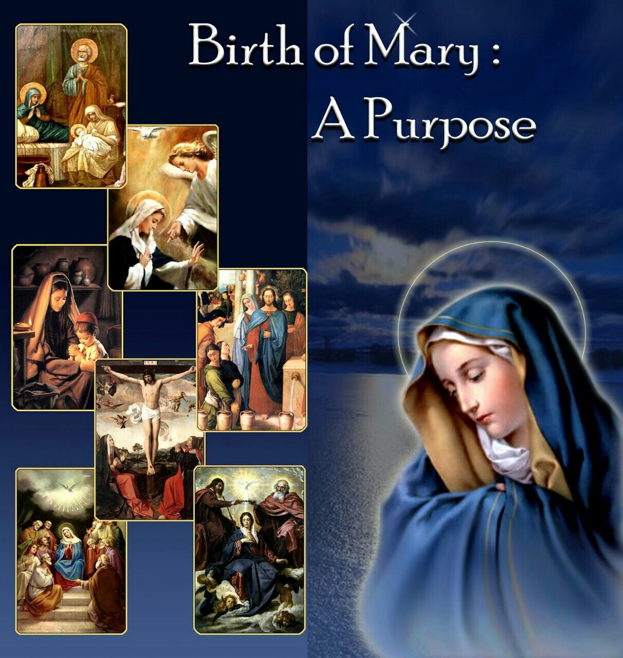 Nativity of the Blessed Virgin Mary Blessed mother mary