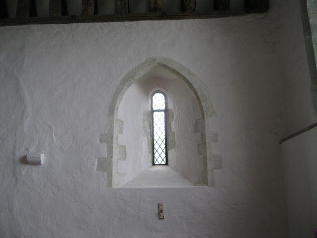 Old Romney Church Window