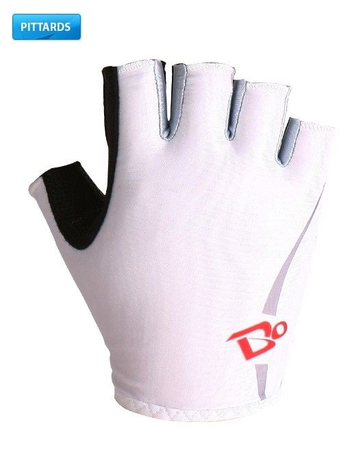 Bike On Gb S10 Pittards Gel Cycling Gloves Short Finger White