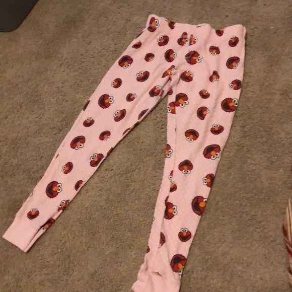 43ec2ebab10 Shop Women s Sesame Street size M Intimates   Sleepwear at a discounted  price at Poshmark. Description  Ladies Elmo long john bottoms. Sold by  carrie1972.