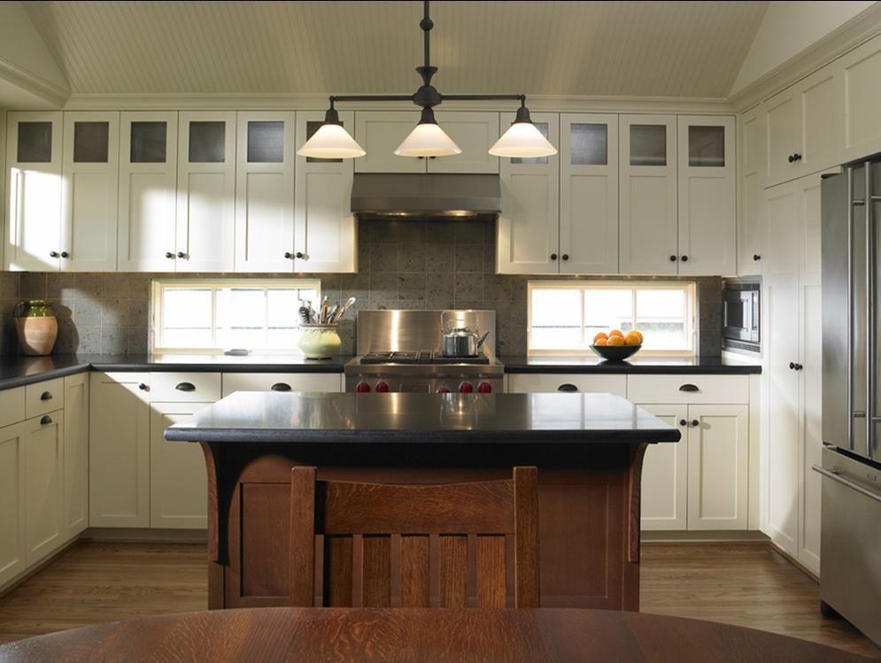 Magnificent Craftsman Style Kitchen Cabinets And Delorme Designs White Craftsman Sty Kitchen Cabinet Styles Craftsman Style Kitchens Craftsman Kitchen Cabinets