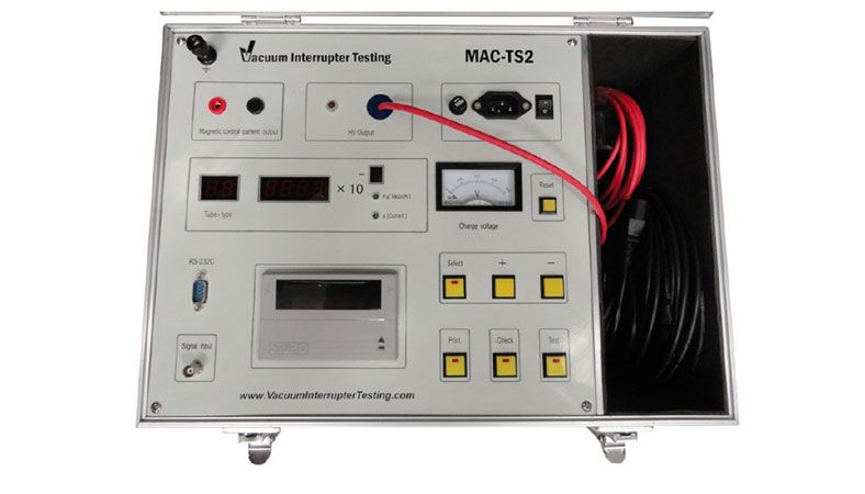 Mac Test Equipment Mac Vacuums System Testing
