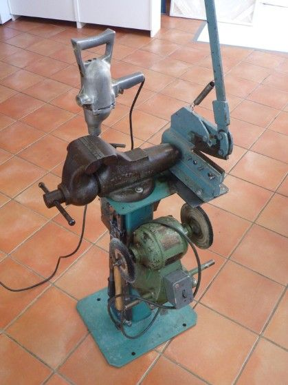 Amazing Rotating Bench Grinder Stand Vintage Multi Tool Stand Pdpeps Interior Chair Design Pdpepsorg