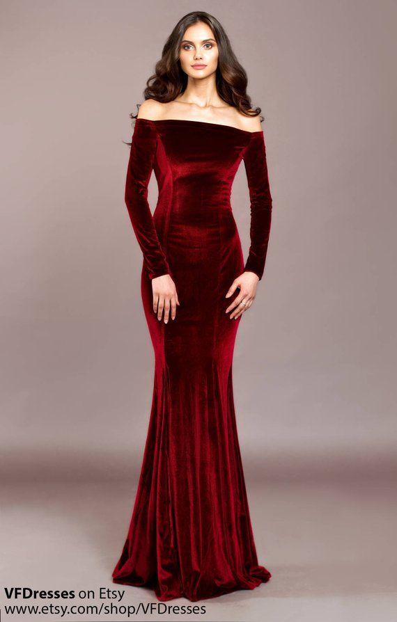 3be94c3cd487b Black velvet dress
