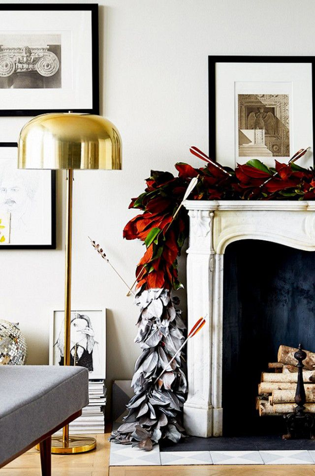 The Most Beautiful Ways to Decorate Your Fireplace This Season ...