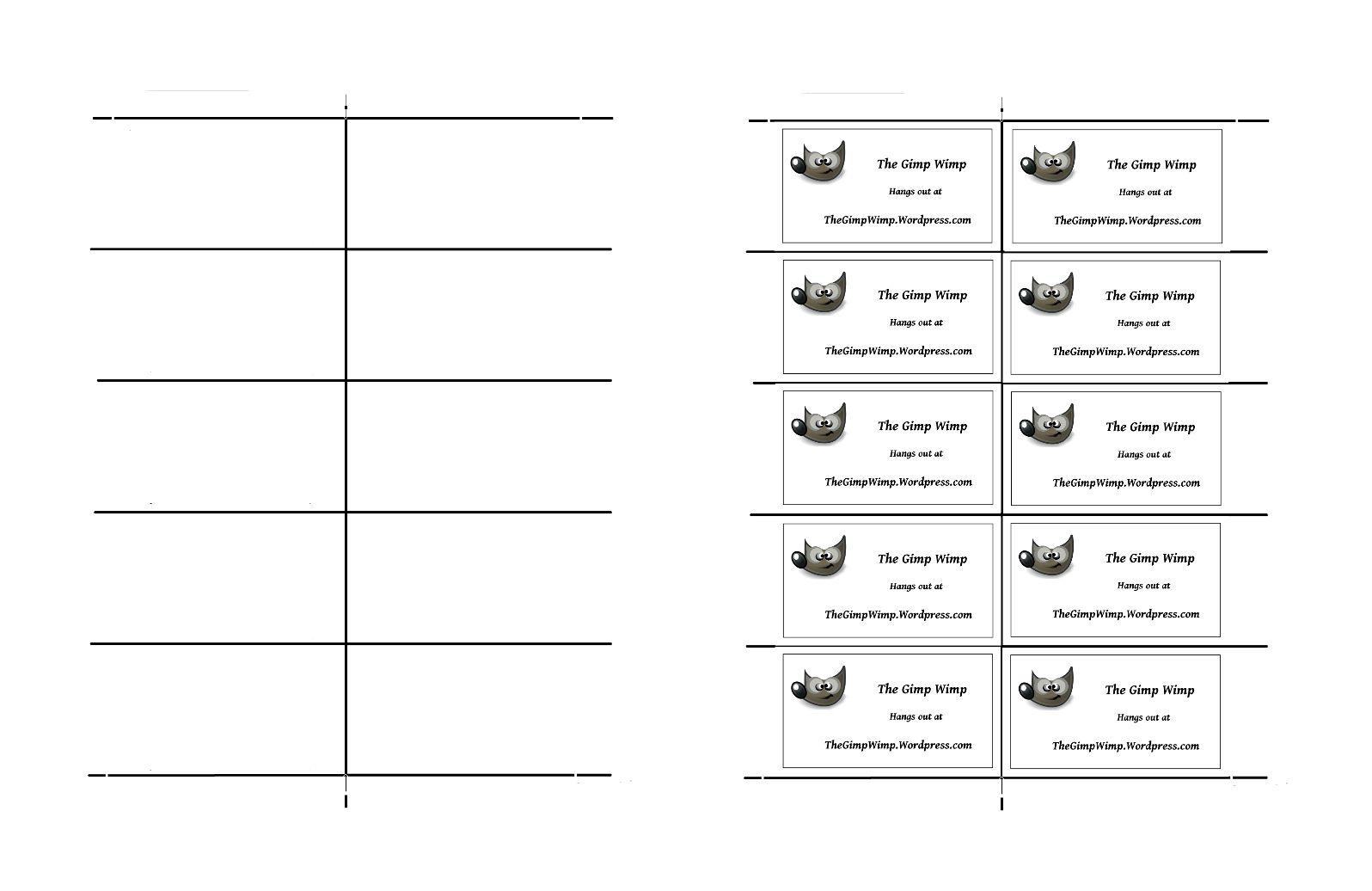 26 images of card template gimp vanscapital in gimp