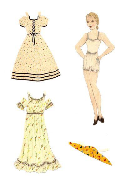 Påklædningsdukker tegnet af børn. Paper Dolls drawn by children - Yakira Chandrani - Picasa Webalbum
