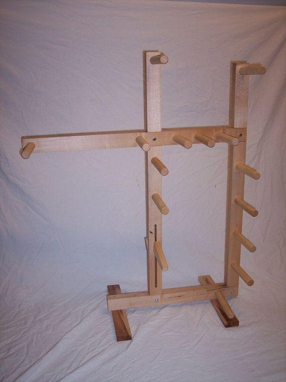 Floor Inkle Loom In Maple By Spriggscreations On Etsy 161 37 Inkle Loom Loom Tablet Weaving