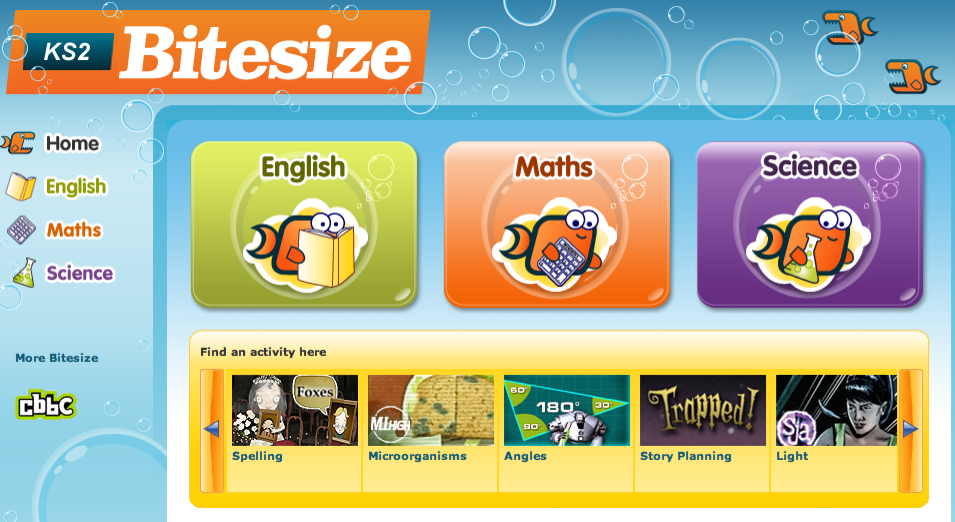 Trapped! Nouns and Adjectives from KS2 BBC Bitesize