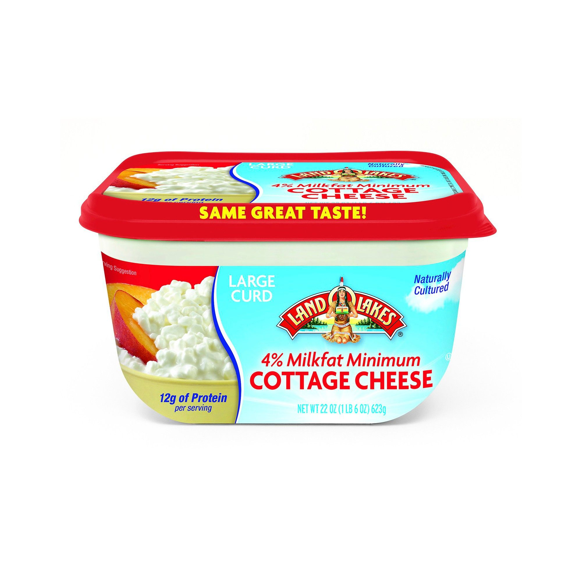 Dean S Large Curd Cottage Cheese 4 Milkfat Minimum 24oz In 2020 Cottage Cheese Curd Local Dairy