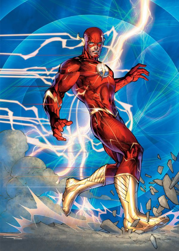 "Official DC Comics Jim Lee Collection Flash #Displate artwork by artist ""DC Comics"". Part… | Displate thumbnail"