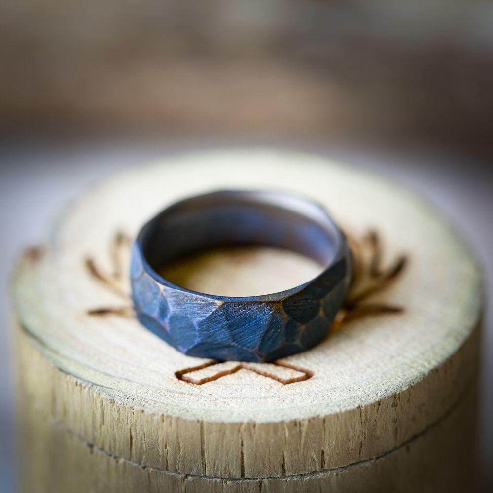 Men S Designer Wedding Ring Southwest Wedding Rings Stag Head