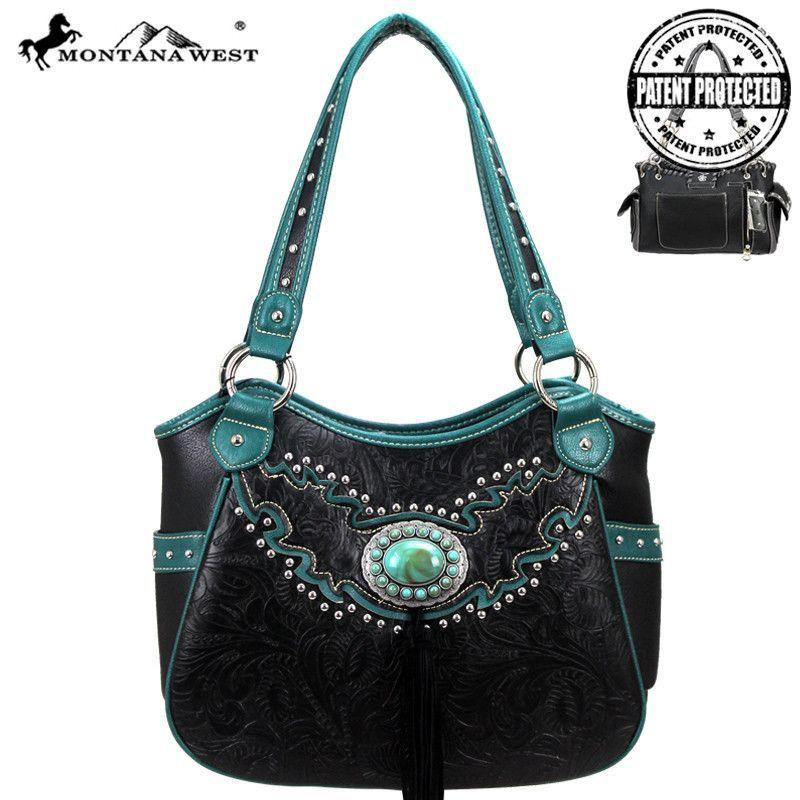 Montana West MW15G-8110 Concealed Carry Handbag