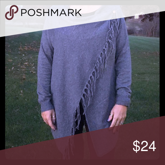 Fringe Detail Wrap Cardigan By She Sky Boutique In 2018 My Posh
