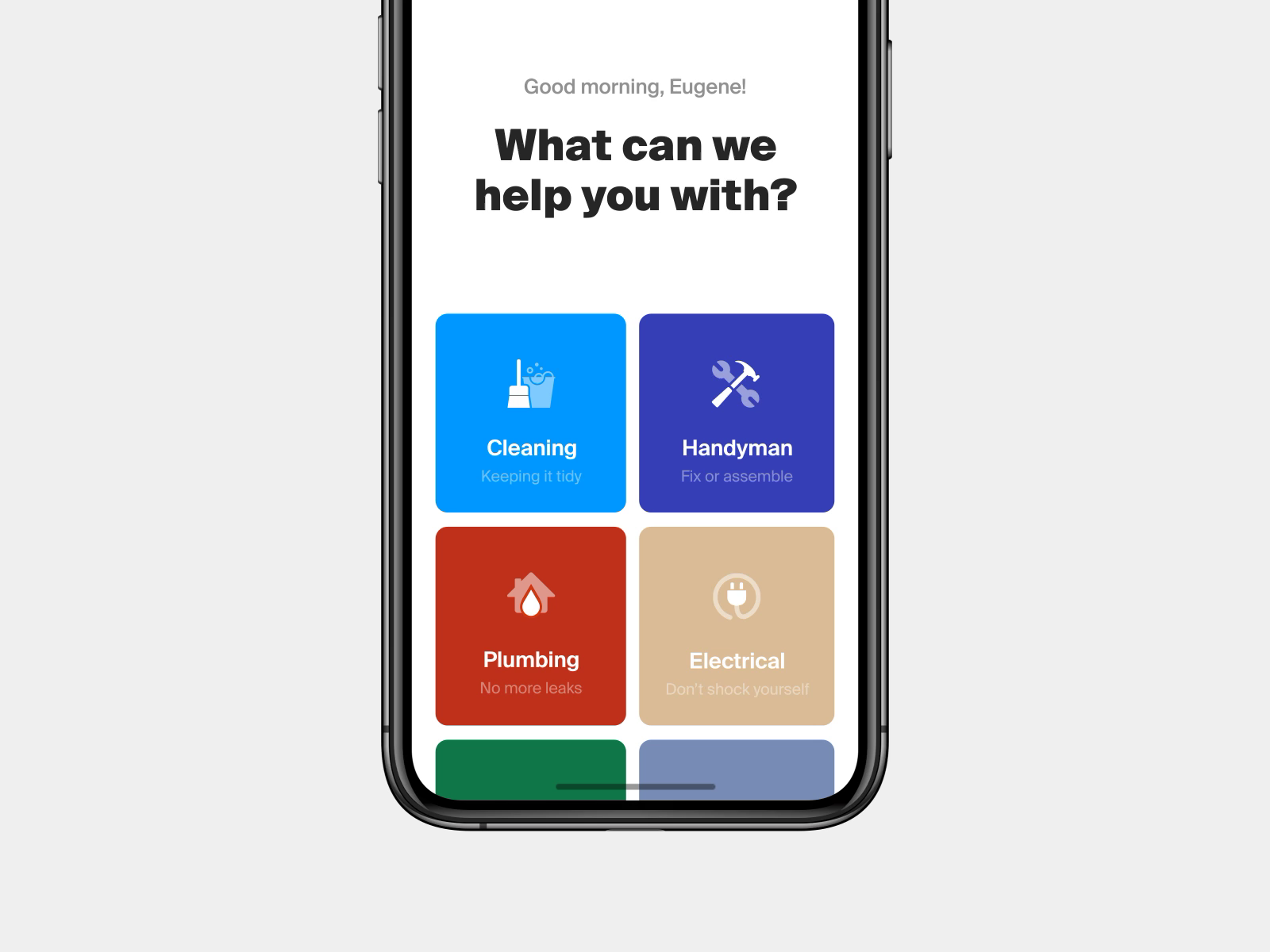 Cleaning Service App by Eugene Olefir 👊 | Animations | Cleaning