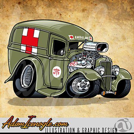 Adam Icenogle Olin1 Detail With Images Car Cartoon Cartoon