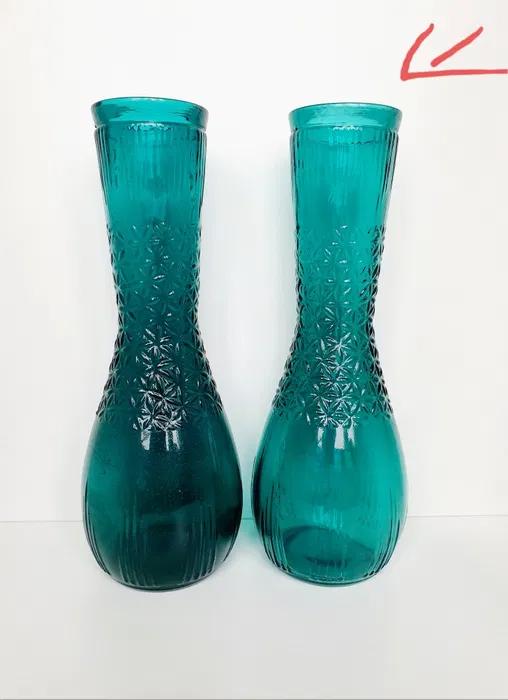 Szmaragdowy Wazon Pradniczanka Szklo Kolorowe Prl Glogowek Olx Pl Rain Boots Rubber Rain Boots Boots