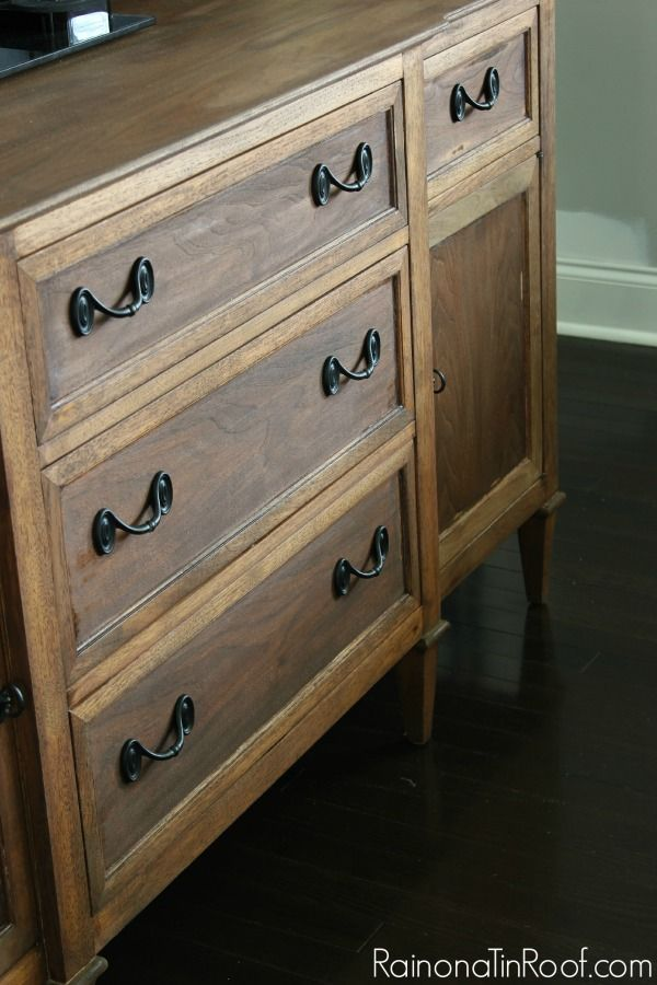 how to strip furniture and restaining wood for the home rh pinterest ca