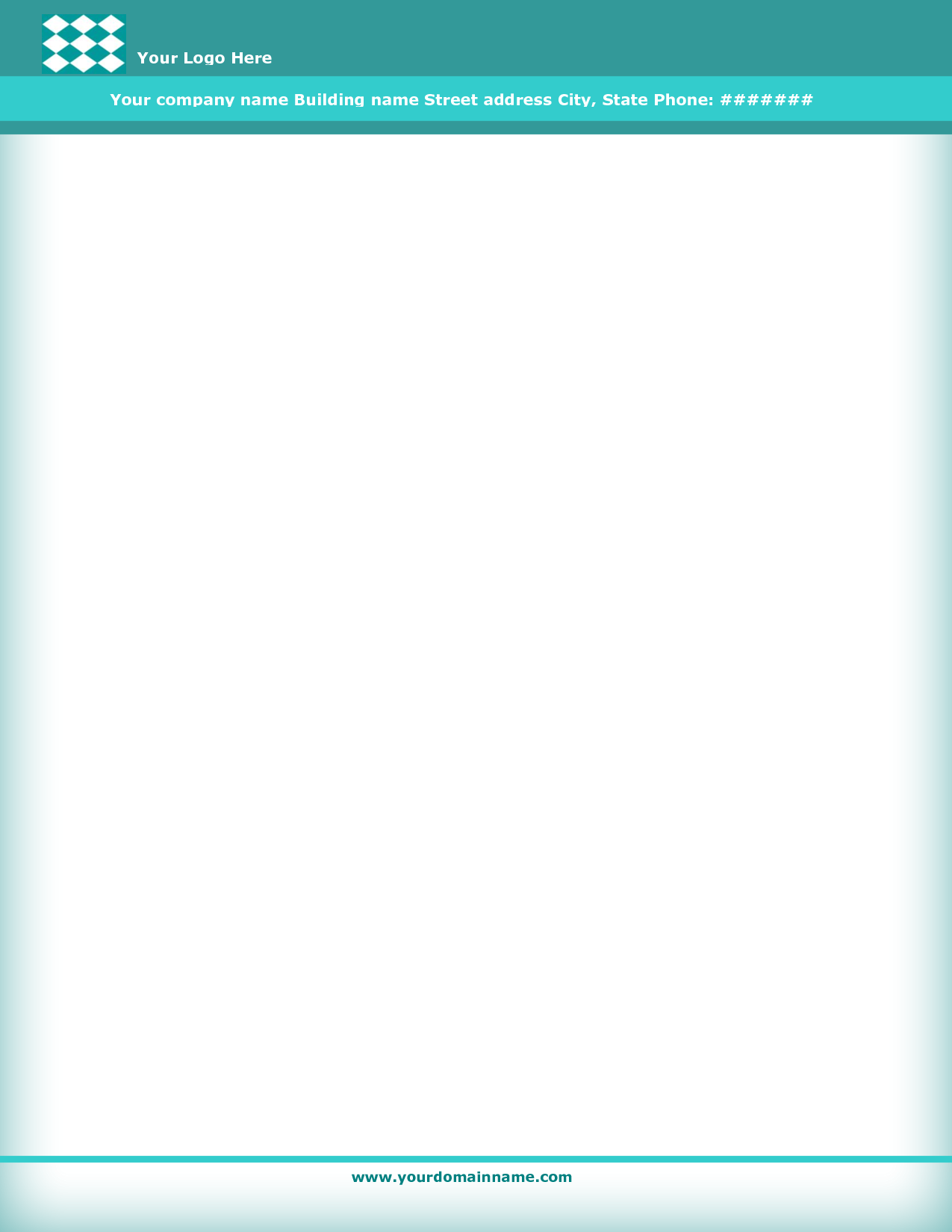 Business Letterhead Templates Free Download Jjj Pinterest