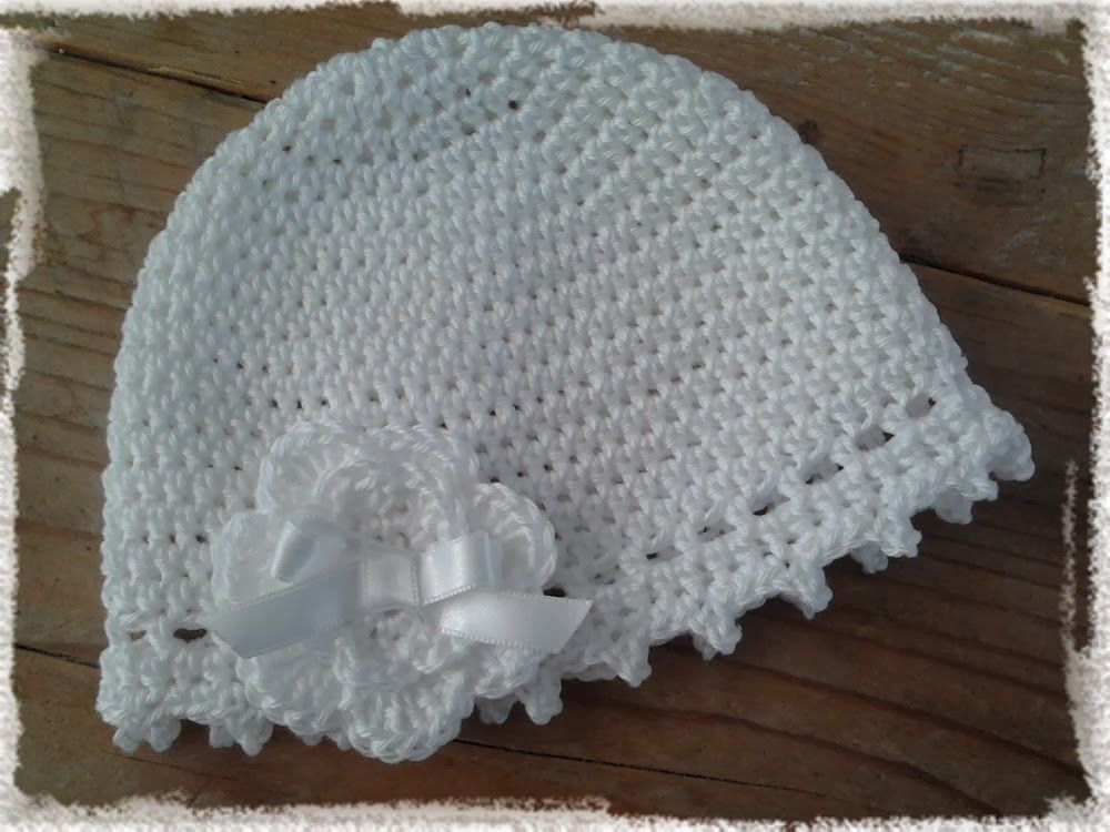 crochet, free pattern (dutch), baby hat, haken, gratis patroon ...