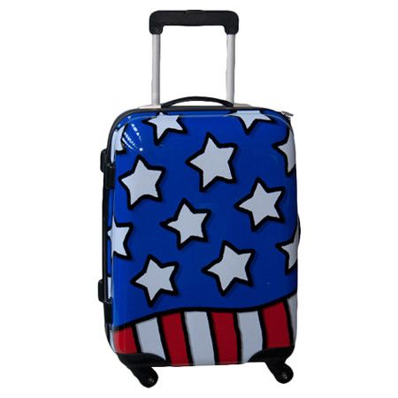 Found it at Wayfair - Hardside Spinner Suitcase in Stars n Stripes