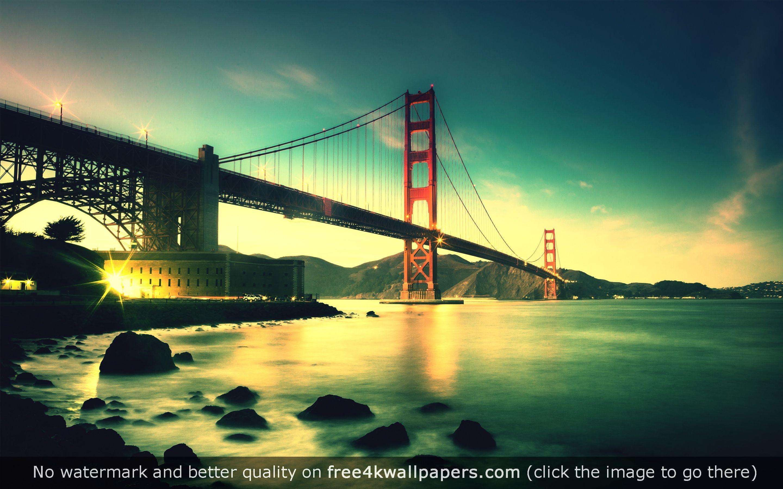 Golden Gate Bridge 5k Hd Wallpaper Golden Gate Bridge Golden Gate Bridge Wallpaper San Francisco Golden Gate Bridge