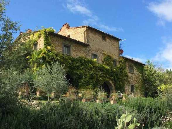 A Stone Throw Away From The Charming Village Of Volpaia This Typical Tuscan Farmhouse Is