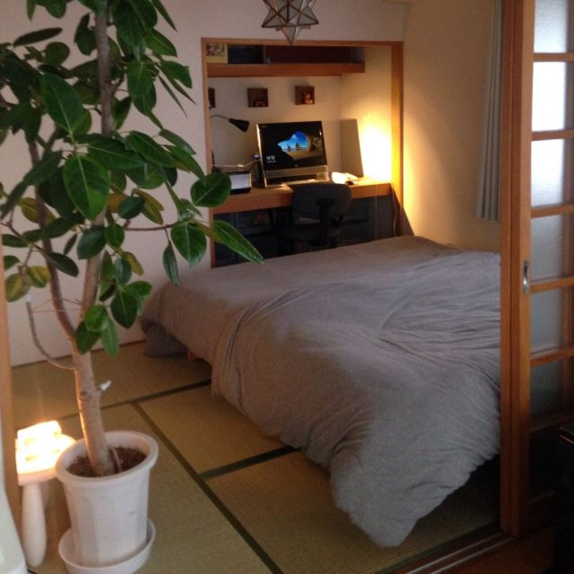 My Desk/寝室/押入れ改造/団地/狭小住宅/エトワール…などの ...