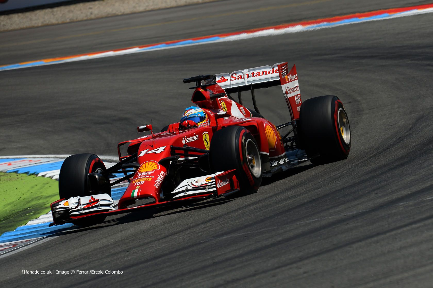 Fernando Alonso, Ferrari, Hockenheimring, Saturday, 2014
