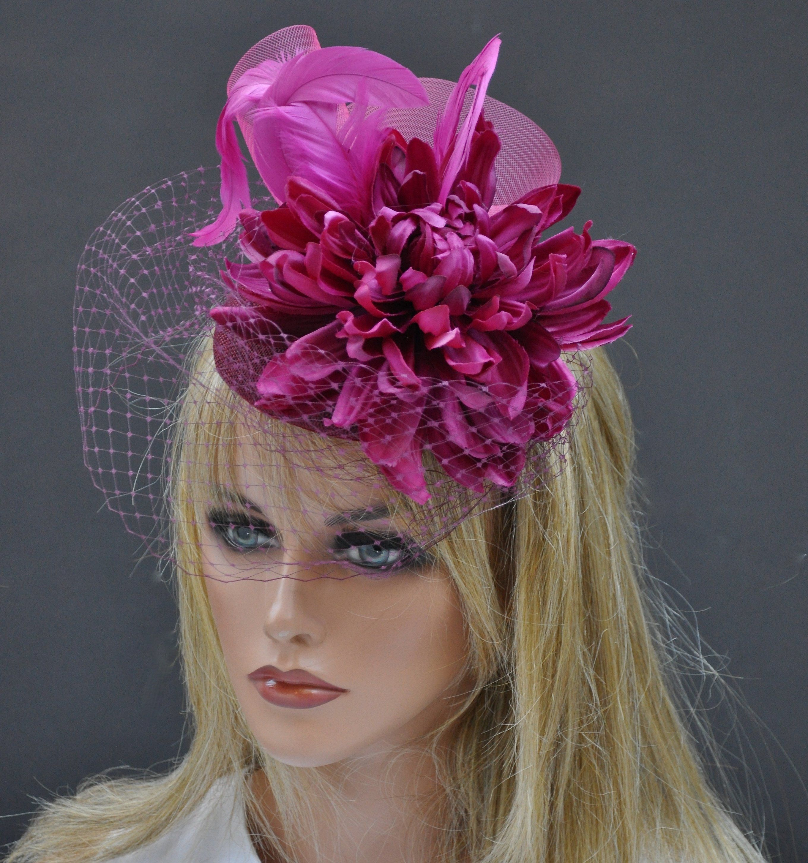 Wedding Church Evening Melbourne Cup Race Carnival Derby Day Headband Fascinator
