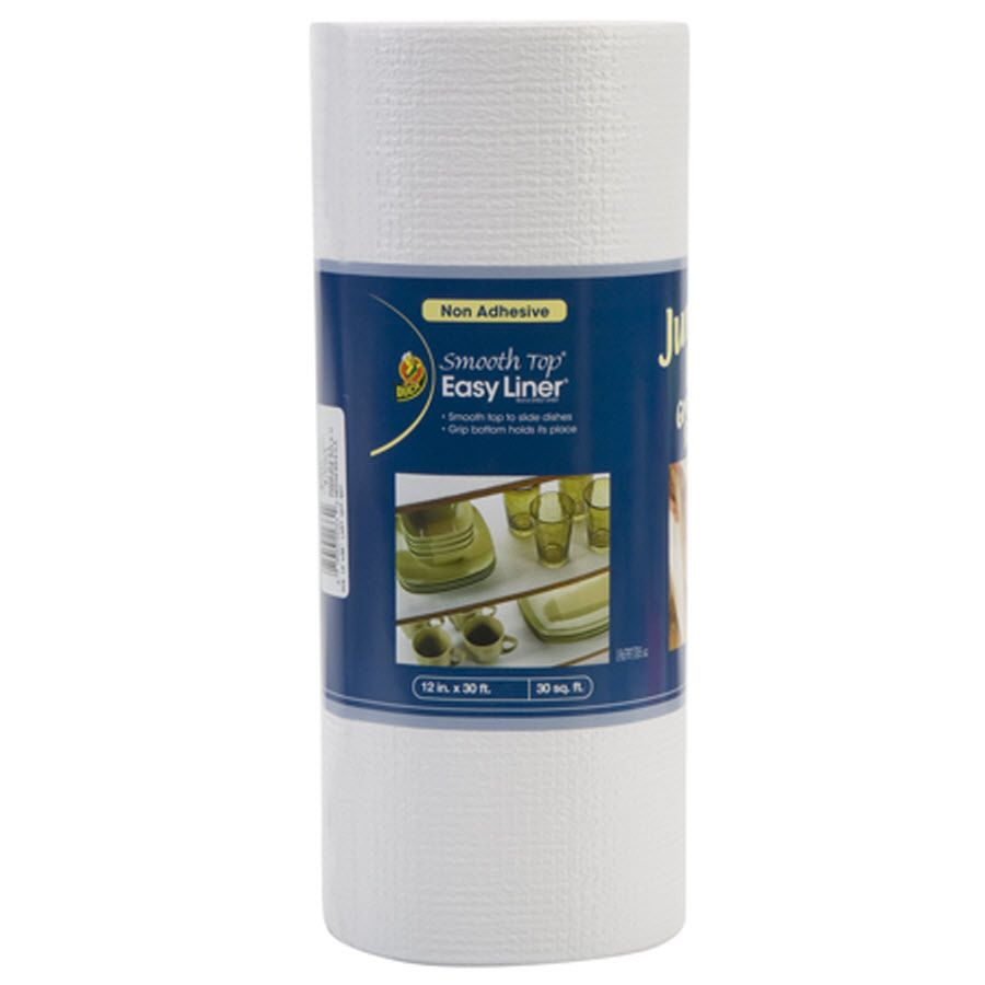 Shop Duck White 30 Ft X 12 In Shelf Liner At Lowes Com Shelf Liner White Shelves Shelves