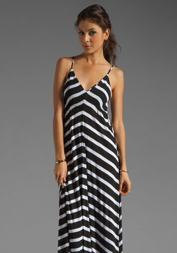 EIGHT SIXTY Stripe Maxi in Scour/Black at Revolve Clothing - Free ...