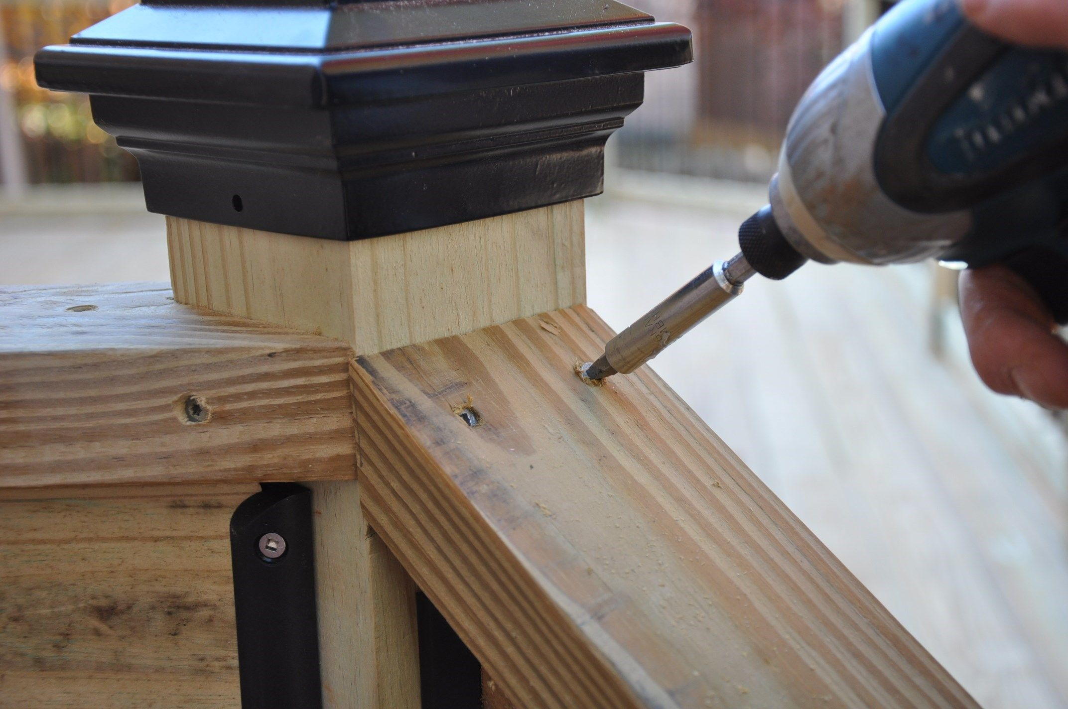 Best Step By Step Instructions For How To Install Deck Stair 640 x 480