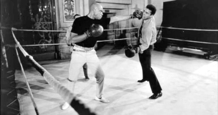 muhammad ali and james earl jones boxing ali