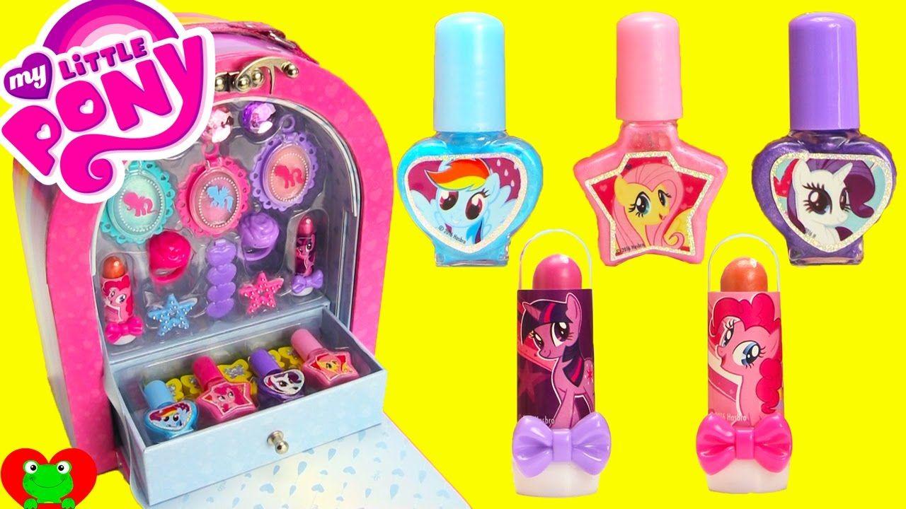 My Little Pony Makeup Case Nail Polish Lip Gloss Surprises Pony Gift Pony Makeup My Little Pony