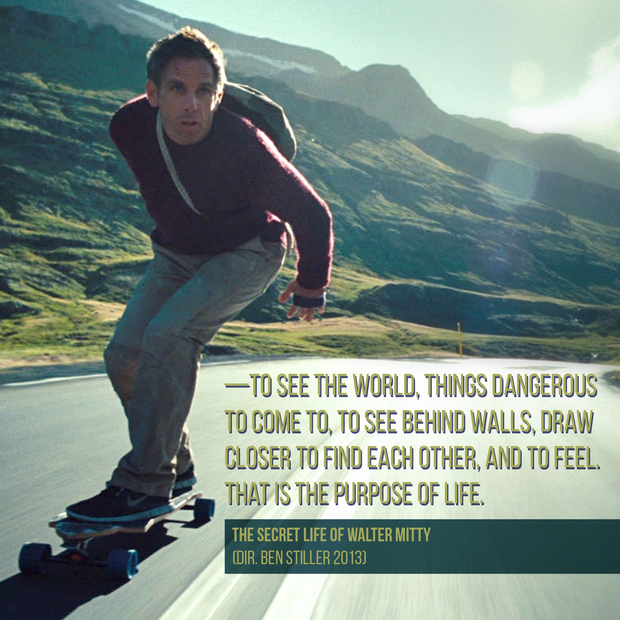 The Secret Life of Walter Mitty (With images) | Walter ...